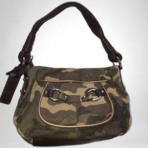 B Makowsky Leather Kimberly Shoulder Bag